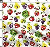 Obst, Erdbeeren, Birne, Trauben, Kirschen, Wassermelone
