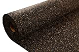 IncStores AcoustiCORK Underlayment - Ideal Subfloor for Hardwood, Ceramic, LVT, Laminte, Bamboo & Cork Flooring (10mm x 4ft x 15ft)