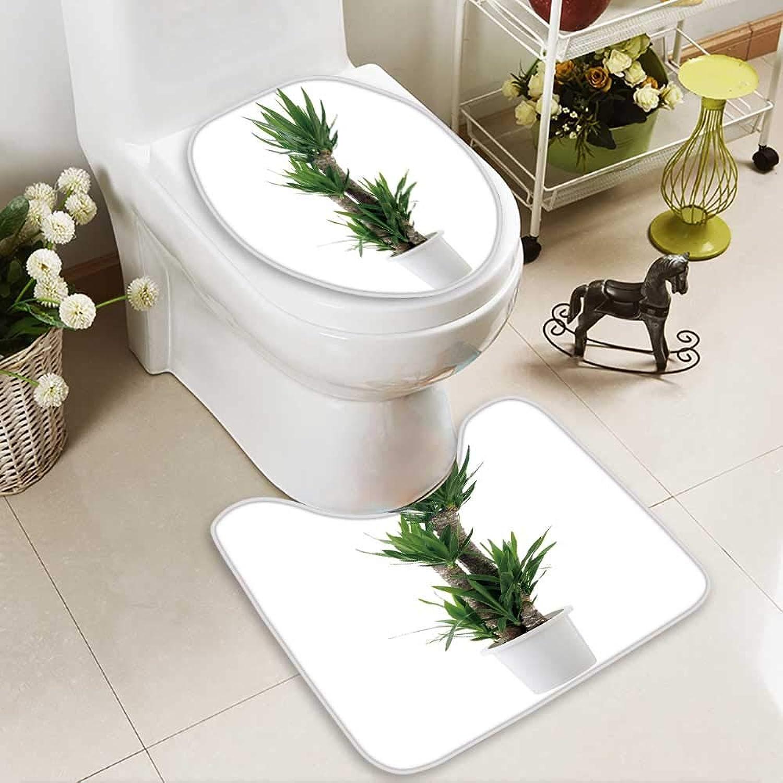 Large Contour Mat House Plant Non-Slip Microfiber Bathroom mat with Anti Skid