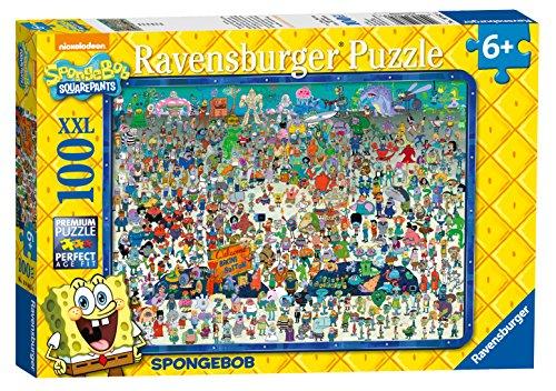 Ravensburger Spongebob Schwammkopf XXL 100 Teile Puzzle