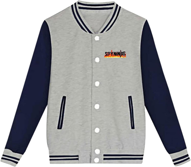 Chad-Wild Cl-Ay Spy Youth Plush Baseball Lightweight Coats New Warm Fashion Sweatshirt Uniform Jacket Sport Coat Black