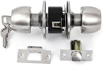 Drukknop vergrendeling ronde deurknop toegangsvergrendeling vergrendeling