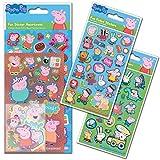 Paper Projects 01.70.24.047 Peppa Pig - Paquete de pegatinas estándar