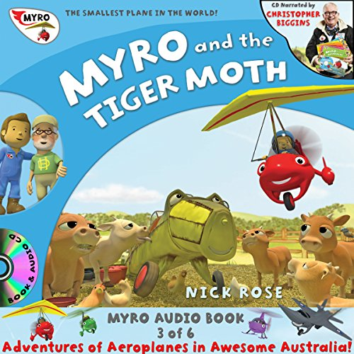 Myro and the Tiger Moth  By  cover art