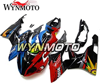 WYNMOTO ABS Plastic Injection Complete Motorcycle Fairings For BMW S1000RR Year 15-16 Red Blue Black Shark Body Frames