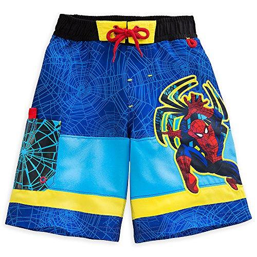 Disney Tienda Spider-Man Climb Wave Natación para Hombre para Niños