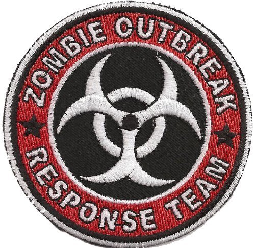 Resident Evil Zombie Outbreak Response Team Umbrella Parche
