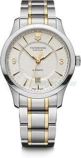 Victorinox - Hombre Alliance - Reloj de Acero Inoxidable de Cuarzo analógico de fabricación Suiza 241874