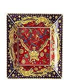 Versace - Copa cuadrada 28 x 28 cm Barocco Holiday Collecz 2020