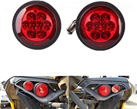 2 PCS Red Rear Tail light Assemblies for 2011-2018 Can Am Outlander 2011-2015 Can Am Commander 2013 2014 Can Am Maverick 1000 - Replace OEM part number 710001645