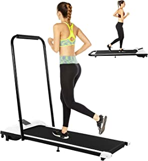 Youen Folding Under Desk Treadmills for Home, Electric Treadmill Exercise Machine & Home Quiet Running Walking, Heavy Duty Treadmill Jogging Fitness Folding Equipment