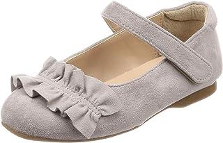 Oearl Kids 浅口鞋 儿童 褶边 入园式 鞋 女孩 K-901