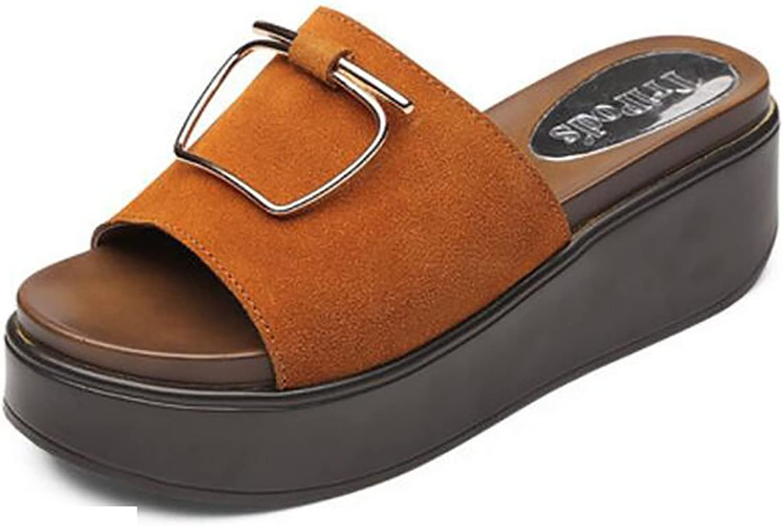 Summer Women Slippers Sandals Slippers Women's Fashion Flat Slippers Wear Non-Slip Sandals Flat Sandals,Fashion Sandals (color   B, Size   39)