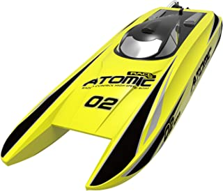 """VOLANTEXRC Brushless RC Boat Fastest 40mph Atomic, 28"""" High Speed Remote Control Boat for Lake & River, Electric Racing RC Boat Catamaran PNP Version NO Battery NO Radio Controlled (792-4PNP)"""