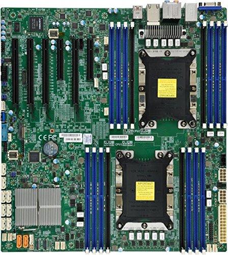 Supermicro マザーボード MBD-X11DAI-N-O Xeon デュアルソケット S3647 C621 Max.2TB PCI Express EATX ブラウンボックス