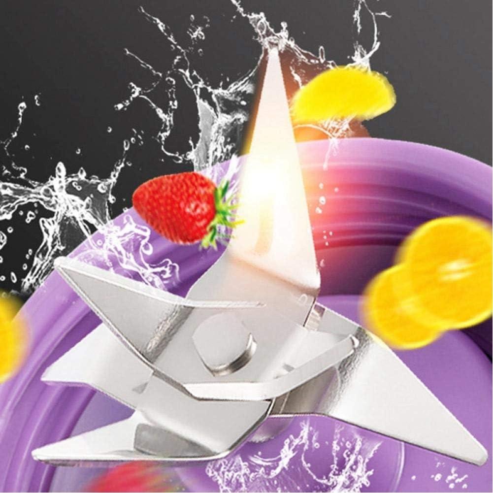Glove 380Ml Portable Juicer USB Rechargeable 6 Lames Juicer Smoothie Blender Machine Mixer Mini Jus Tasse Purple