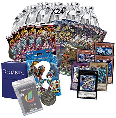 Yu-Gi-Oh! Adventskalender DIY - mit Säckchen, Sammelkarten und Merchansising