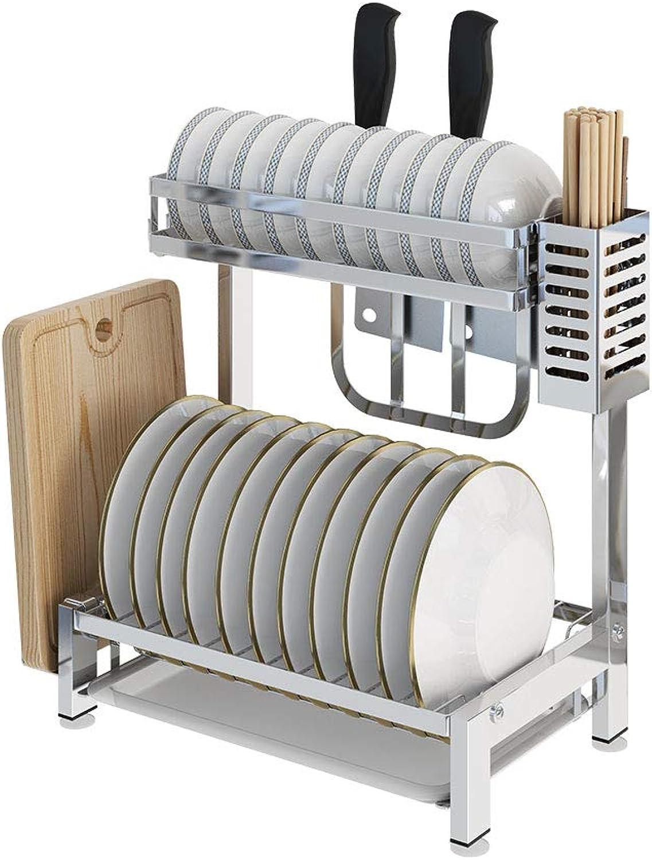 HTTDIAN Kitchen Drying Dish Rack Drain Bowl Dishware Dishes Storage Rack Storage Box Shelf Storage
