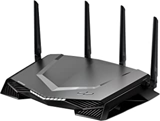 NETGEAR Nighthawk Pro Gaming Wireless Wi-Fi Internet Router 802.11ac Gigabit Ports, Black, XR500-100AUS