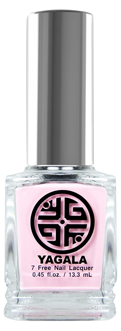 困惑した滑る地震YaGaLa ネイルラッカー002Favorite Pink マット