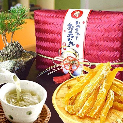敬老の日 の プレゼント 人気商品 おいもや 干し芋 お菓子 食べ物 敬老の日ギフト ギフトセット 5袋セット (玉手箱・赤)