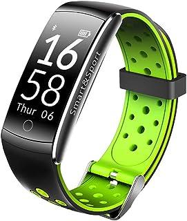 WF Pulsera Actividad Inteligente Hombre Correas, Pulsómetro Monitor Sueño Pulsera Deportiva Calorias Reloj Inteligente Impermeable IP68 Mujer Hombre Niños iOS Android