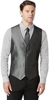 Perry Ellis Men's Slim Irridescent Twill Vest
