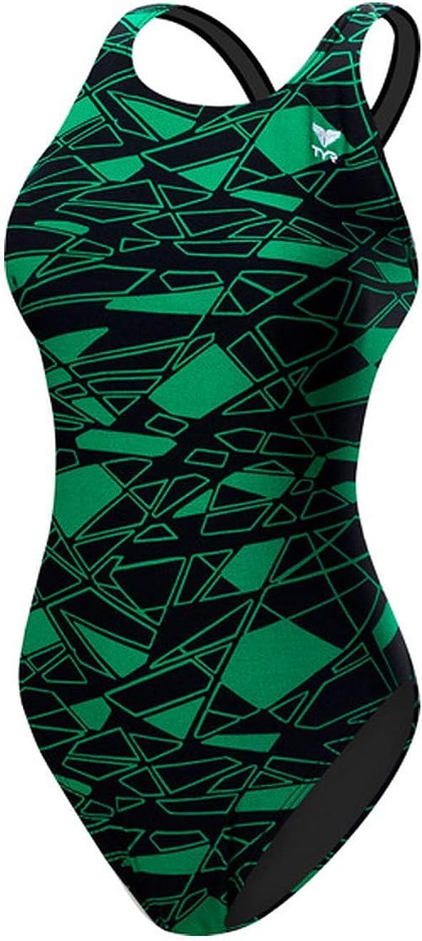 Mujer TYR Women/'s Hexa Diamondfit Swimsuit Traje de ba/ño de una Pieza