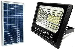PDR*Faro 42 Led Con Pannello Solare E Sensore Di Movimento  Crepuscolare 20W