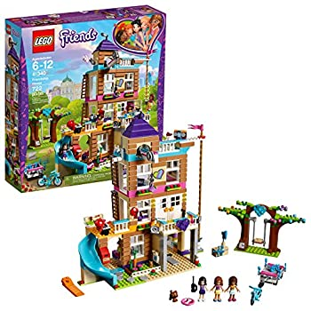 LEGO Friends Friendship House 41340 Kids Building Set with Mini-Doll Figures Popular Girl Toys for Christmas and Valentines Gifts  722 Pieces   Discontinued by Manufacturer