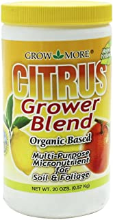 Grow More 8086 Citrus Grower Blend Fertilizer, 20 oz