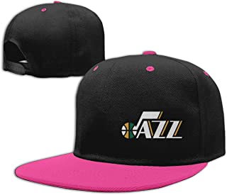 Eyscar Womens&Men's Cool and Hip Jazz Unisex Casual Hat Adjustable Strapback Pink