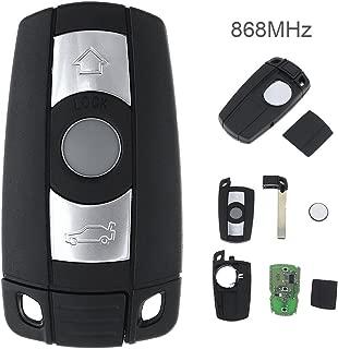 Remote Key for BMW CAS3 System X5 X6 Z4 1/3 / 5/6 / 7 Series Vehicle Smart Key 2002-2013 868MHz 3 Buttons