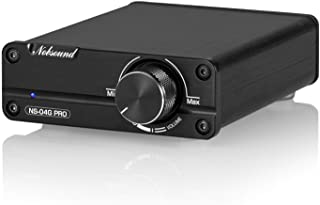 Nobsound Mini Dual TPA3116 Digital Power Amplifier HiFi Stereo Amp Audiophile-Grade 2.0 Channel 100W×2 with NE5532P Pre-Am...