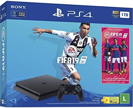 Console PlayStation 4 - Slim 1TB - Bundle FIFA 19