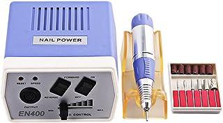 Loosnow Electric Nail Art Machine Kit 30000 RPM File Drills Bits Tool Set for Manicure Pedicure