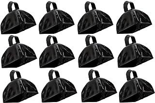 "Rhode Island Novelty 3"" Metal Black Cowbells | 12 Pack"