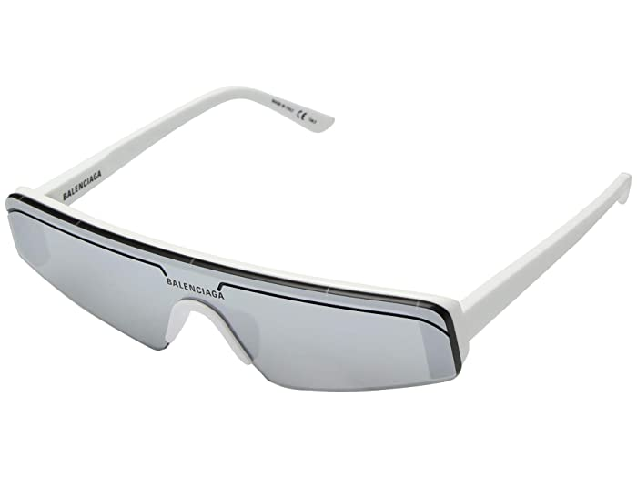Balenciaga  BB0003S (White) Fashion Sunglasses