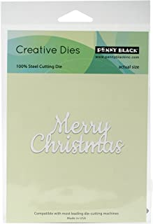 Best merry christmas metal die Reviews