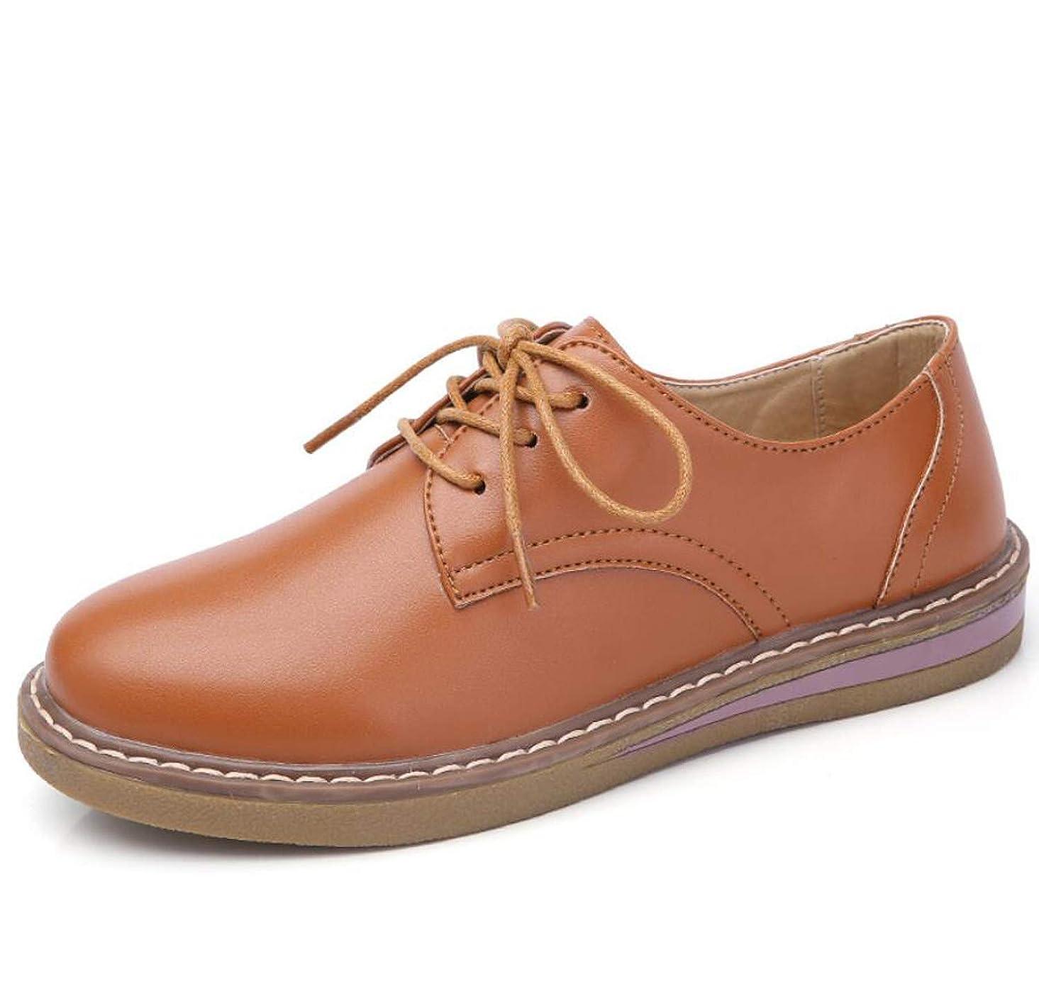 虐待洗練野望女性の靴カジュアルファッションレトロローファー靴フラットヒールオックスフォード靴