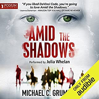Amid the Shadows audiobook cover art