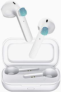 Wireless Earbuds, Bluetooth 5.0 Headphones Hi-Fi Stereo Bluetooth Earbuds Half in-Ear Touch Control True Wireless Earbuds ...