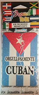Air Freshener Cuba Proud To Be Cuban Home Auto Hanging Fragrance