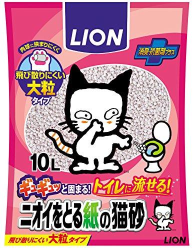 ニオイをとる砂 ニオイをとる紙の猫砂 10L