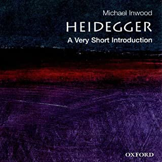 Heidegger: A Very Short Introduction audiobook cover art