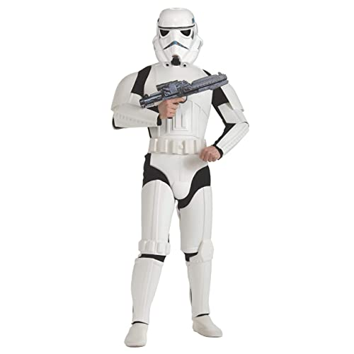 Rubieu0027s Official Star Wars Storm Trooper Deluxe, Adults Costume   Standard  Size