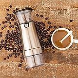 Molinillo eléctrico, Acero Inoxidable, pequeño, con Carga USB, automático, Pimienta, Grano de café, Molinillo de núcleo de cerámica, Grosor Ajustable, Transparente