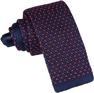 Hommes Cravate-Uni Gris-Pure Soie-Tissée-étroit Skinny Slim-NEUF