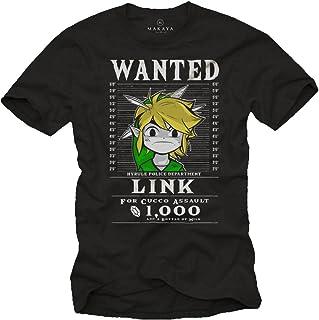 T-Shirt Hombre Manga Corta - Link The Legend - Camiseta Friki
