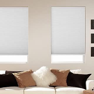 Window Blind Store Room Darkening Cordless Cellular Shade White 34x64